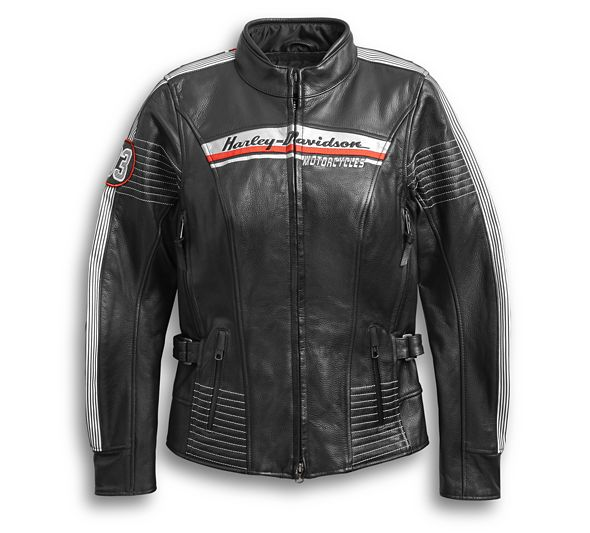 Women's H-D Triple Vent System Adraga Leather Jacket