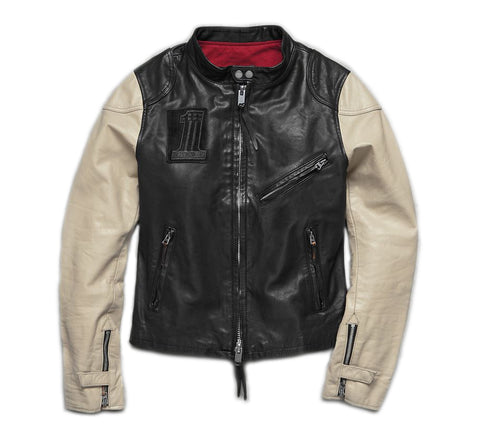 Women's Pushrod Leather Jacket