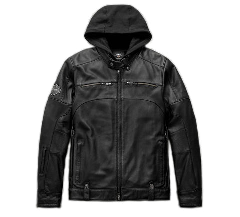 Men's Swingarm 3-in-1 Leather Jacket