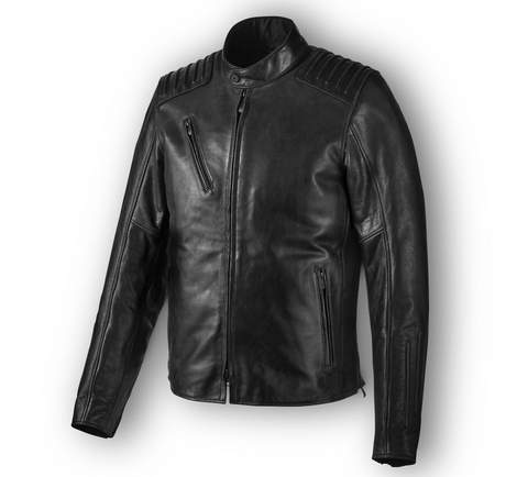 Men's Temerity Slim Fit Leather Jacket