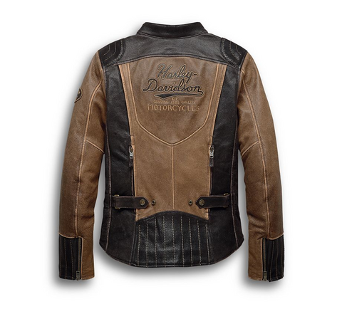 Women's H-D® Triple Vent System™ Gallun Leather Jacket
