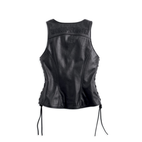 Women's Avenue Leather Vest