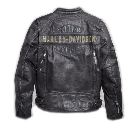 Men's Passing Link Triple Vent Leather Jacket