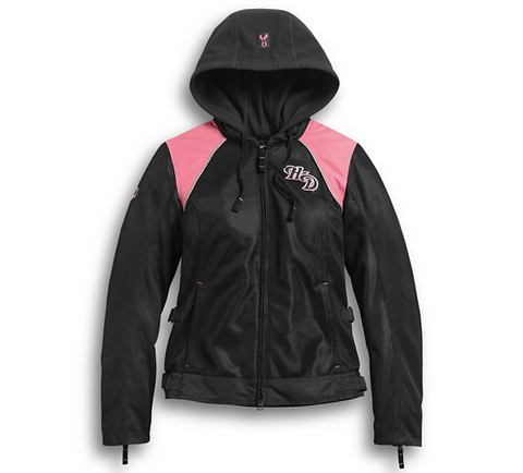 Women's Pink Label 3-in-1 Mesh Riding Jacket