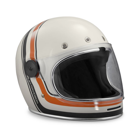 Vintage Stripe B06 Full-Face Helmet