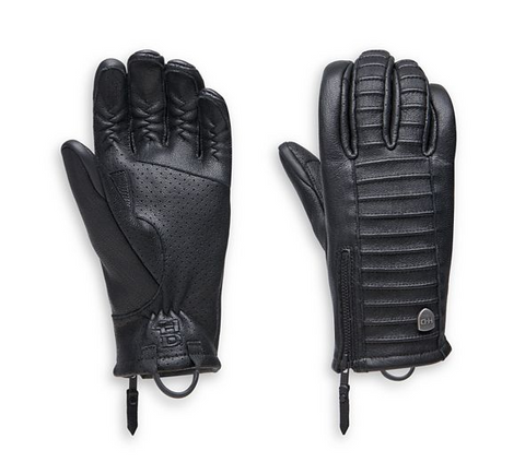 Women's Ozello Perforated Leather Gloves