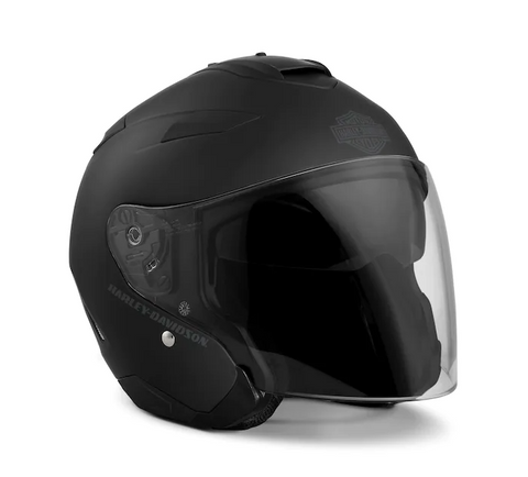 Maywood Interchangeable Sun Shield H27 3/4 Helmet - Matte Black