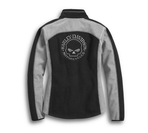 Women's Skull Windproof Fleece Jacket