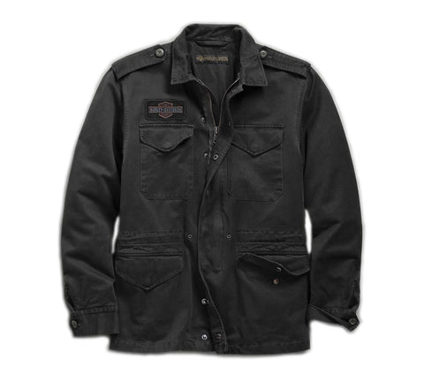 Men's Logo Slim Fit Field Jacket
