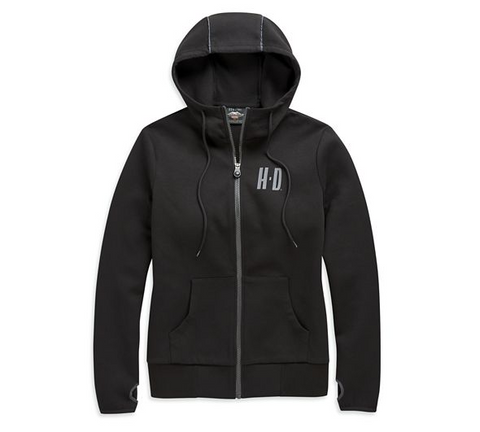 Women's Double Knit Four-Way Stretch Hoodie