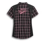 Women's Pink Label Performance Plaid Shirt