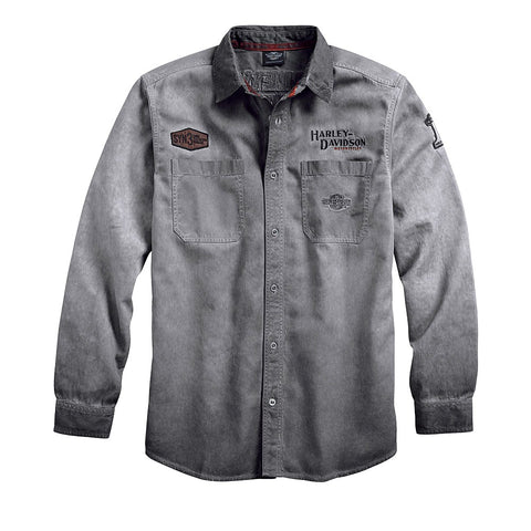 Men's Iron Block Long Sleeve Shirt