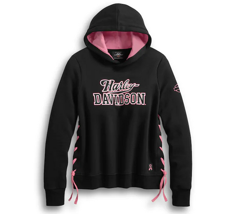 Women's Pink Label Side-Laced Pullover Hoodie
