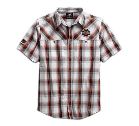 Men's Genuine Oil Can Plaid Shirt