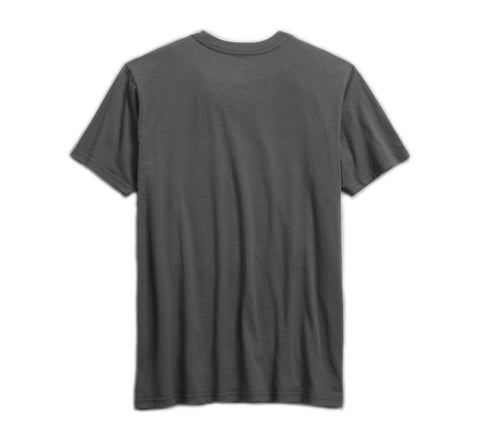 Men's Stacked Graphic Slim Fit Tee