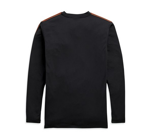 Men's Performance Micro Mesh Long Sleeve Tee