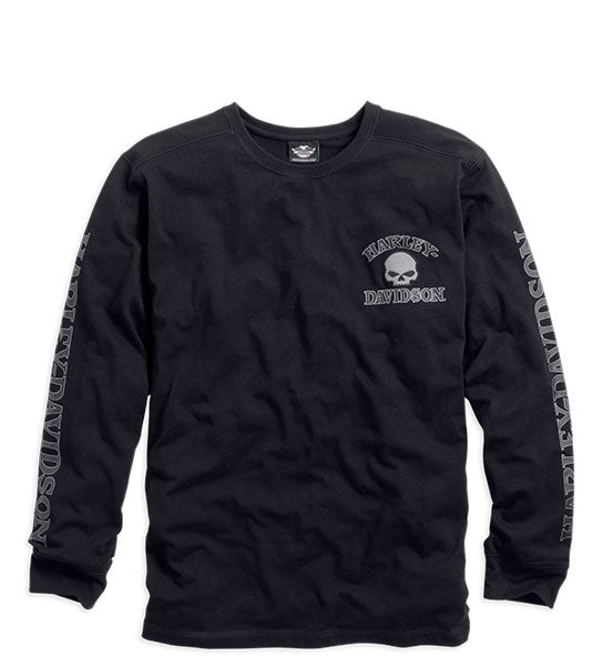 Men's Skull Long Sleeve Tee