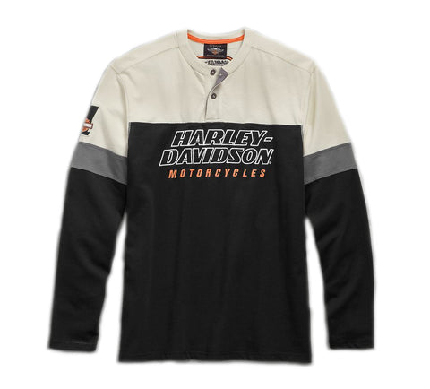 Men's H-D Racing Henley