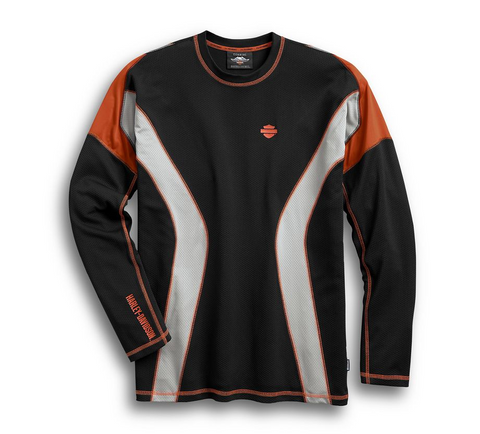 Men's Performance Long Sleeve Tee with CoolcoreTechnology