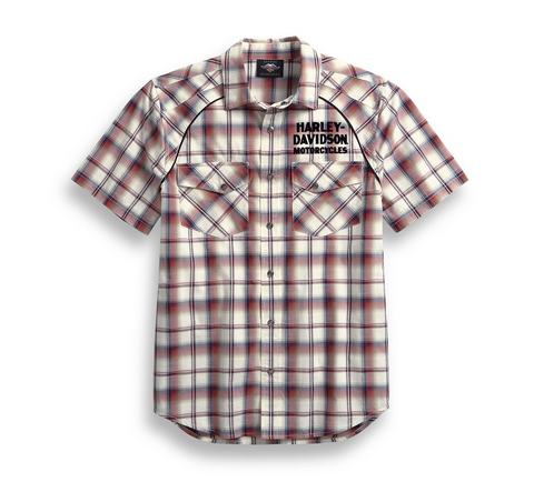 Men's Upright Eagle Plaid Shirt