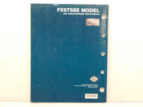 2007 FXSTSSE Parts Catalog
