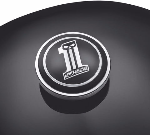 Dark Custom Logo Fuel Cap Medallion