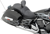 Drag Specialties Low Profile Touring Seat Full Cross Country