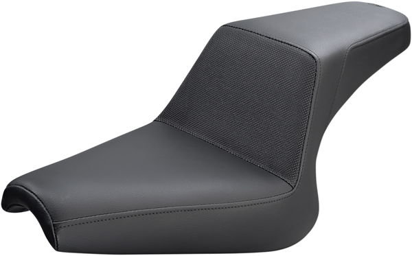 Saddlemen Step-Up Gripper Seat Lmbr Black