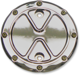 Carl Brouhard Designs Stator Cover Indian Bombr Chrome