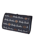 Womens Signature B&S Hanging Black Polyester Toiletry Kit