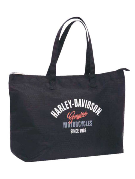 Harley-Davidson Women's Tail of Dragon Light-Weight Shopper Tote
