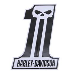 H-D Dark Custom #1 Tin Sign