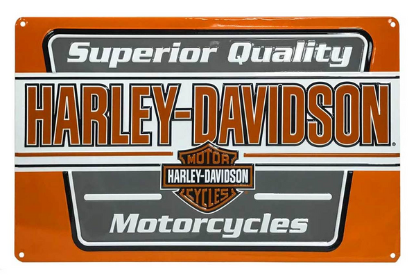Superior Quality Motorcycle Tin Sign