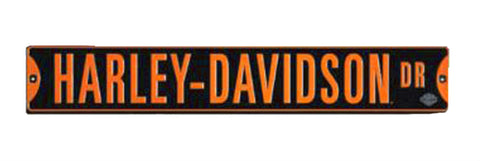 Harley-Davidson® Drive Embossed Tin Street Sign