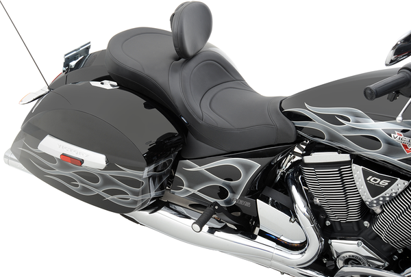 Drag Specialties Low Profile Touring Seat Mild Stitch Cross Country