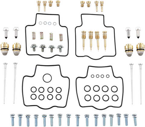Parts Unlimited Carburetor Kit Kawasaki ZZR1200