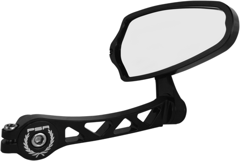 Powerstands Racing Felipe Bar End Mirror - Black
