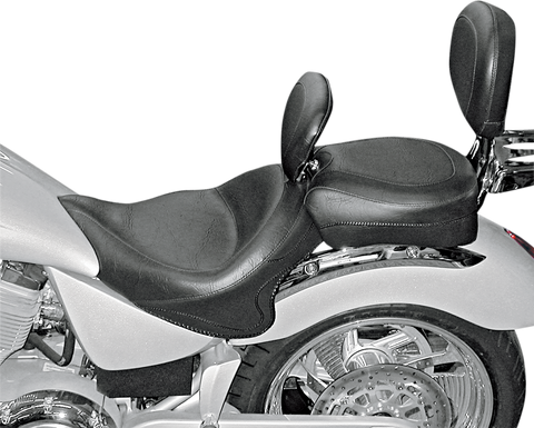 Drag Specialties Low Profile Solo Seat Vegas Diamond Stitch