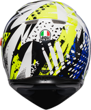 AGV K3 SV POP Helmet Blue/Lime Sm