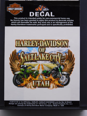 Harley-Davidson of Salt Lake City Wing Decal