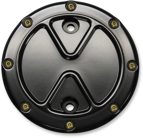 Carl Brouhard Designs Stator Cover Indian Bomber Black