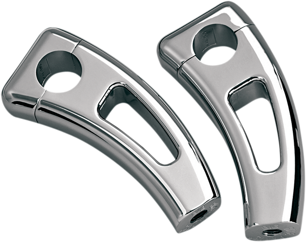 "Show Chrome Risers H/bar 4"" Square"