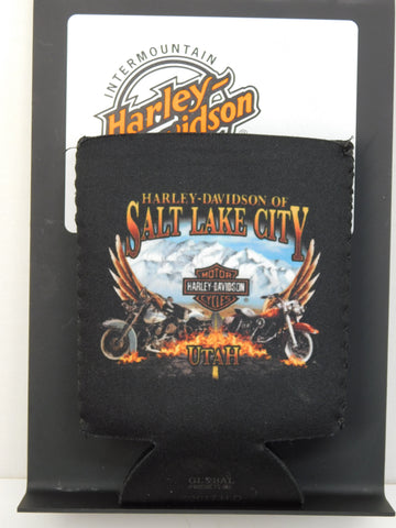 Harley-Davidson of Salt Lake City Wings Koozie