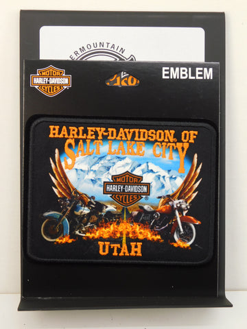 Harley-Davidson of Salt Lake City Bikes with Wings Patch
