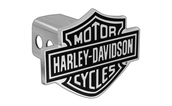 Bar & Shield Trailer Hitch Cover 2'' Stainless Steel