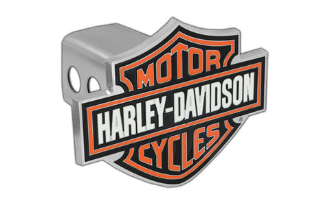 Orange Bar & Shield Trailer Hitch Cover