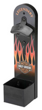 Flames Wall Mount Bottle Opener