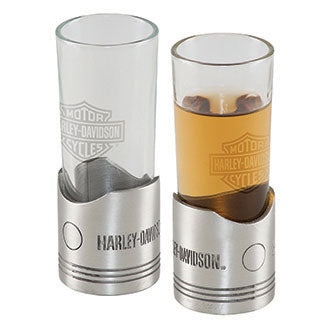 Harley-Davidson Piston Shot Glass Set
