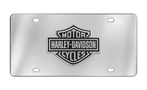 Bar & Shield License Plate Frame