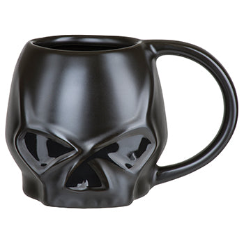 Sculpted Skull Mug